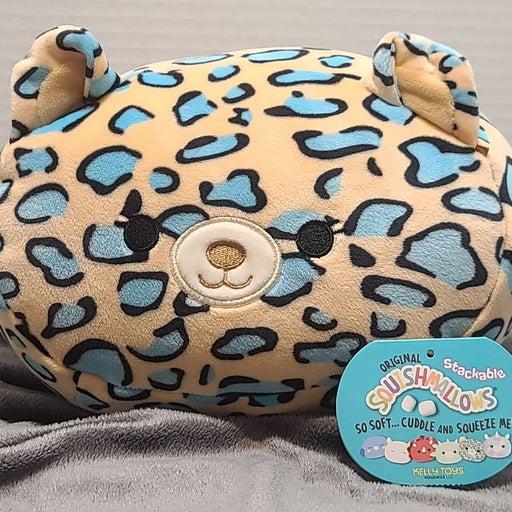 """Liv the Leopard 8"""" stackable Squishmallo"""