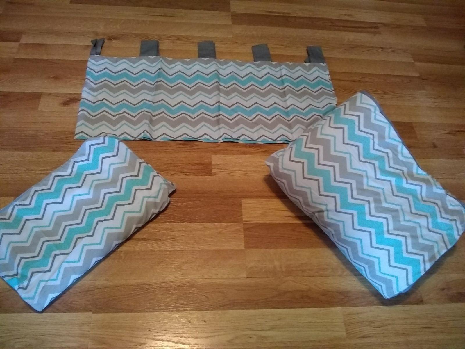 crib bedding valance for baby