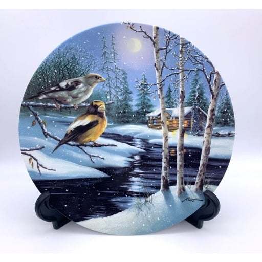 1993 Night Lights by DL Rust Plate - Wings of Winter Collection - WL George