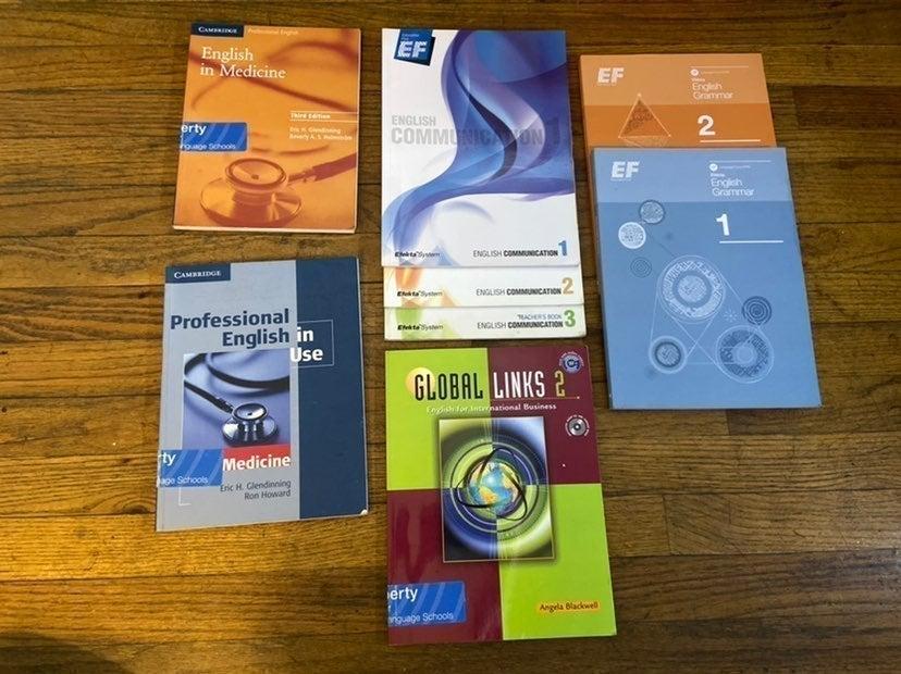 8 Adult English Communication Books