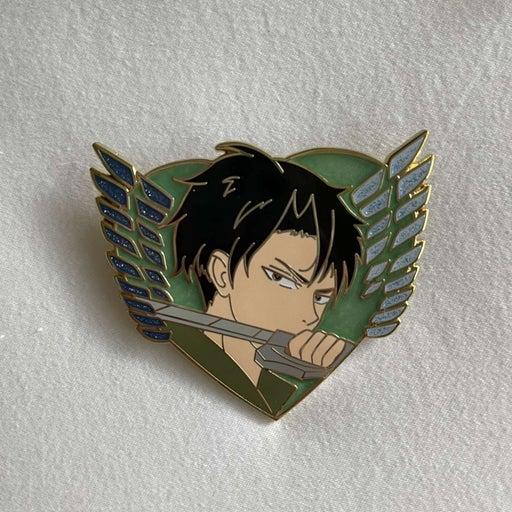 Levi Heart Pin