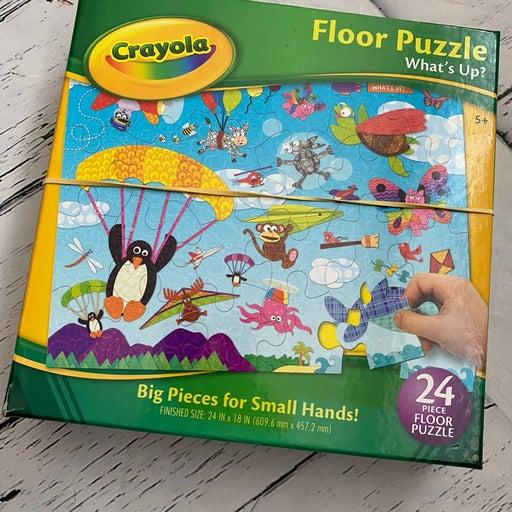 Crayola floor puzzle