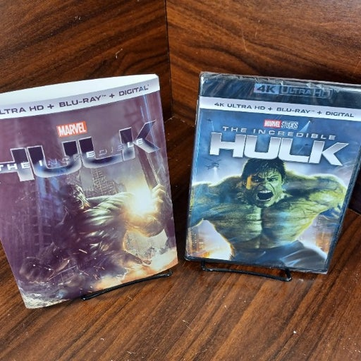 The Incredible Hulk 2008 (4K+Blu-ray-No Digital)Custom Slipcover-Free Box S&H!