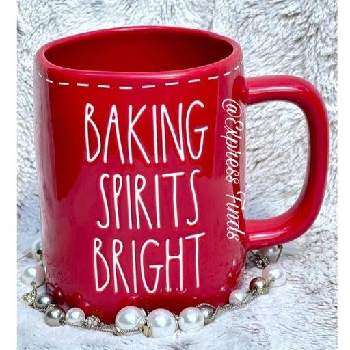 Rae Dunn Baking Spirits Bright Christmas