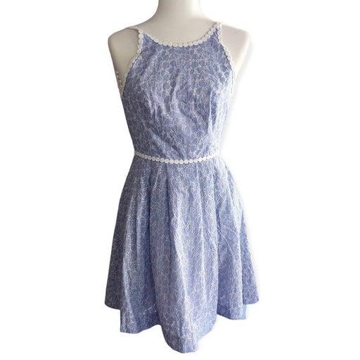 LILLY PULITZER Tori Dress Crew Blue Tint NWT