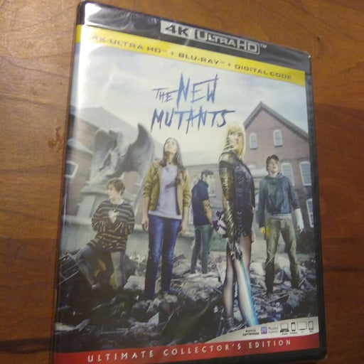 The New Mutants 4K Ultra HD Combo Pack N