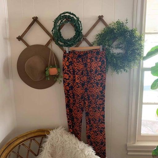 Cremieux - Orange Floral Lounge Pants