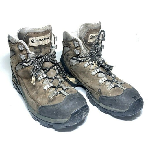 Scarpa Hiking Trail Boots Brown Leather
