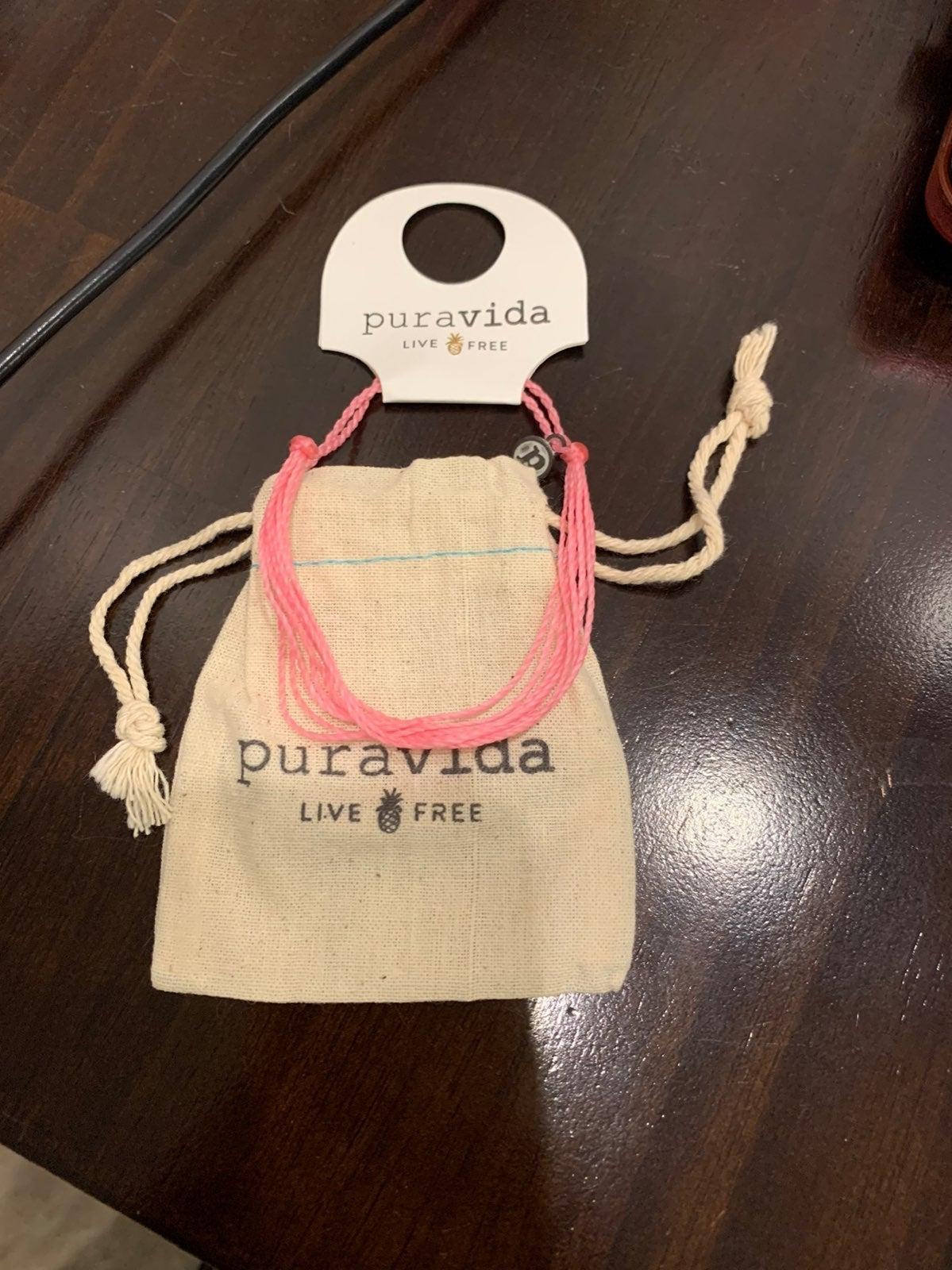 NEW Pura Vida Pink Bracelet