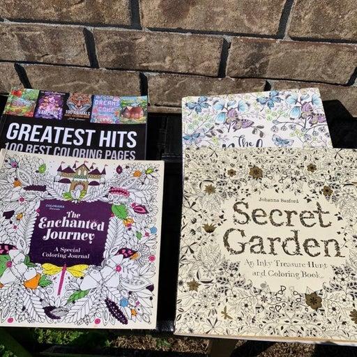 4 coloring book