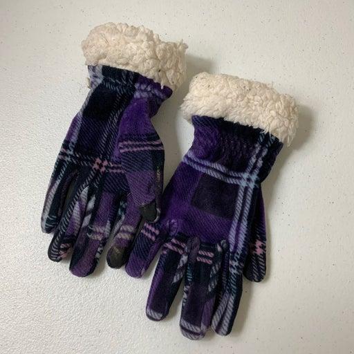 Cuddl Duds Velour Gloves