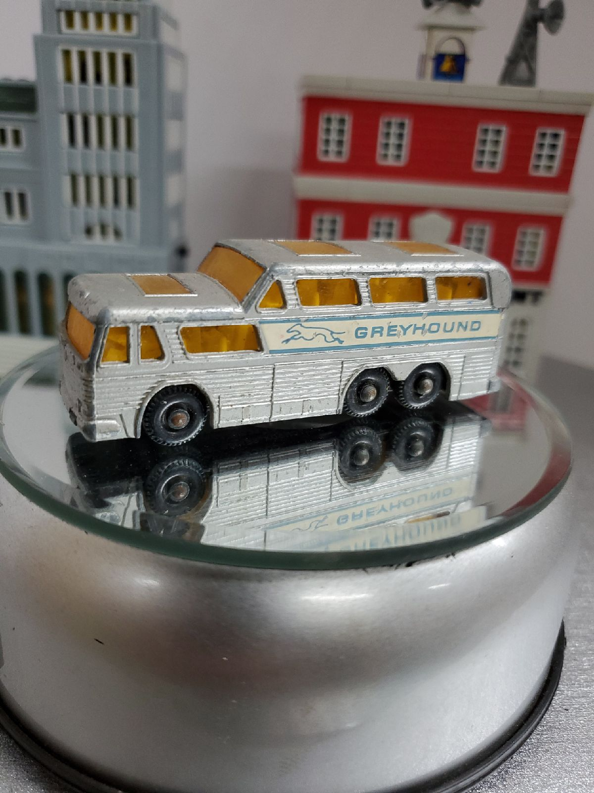 Matchbox greyhound bus