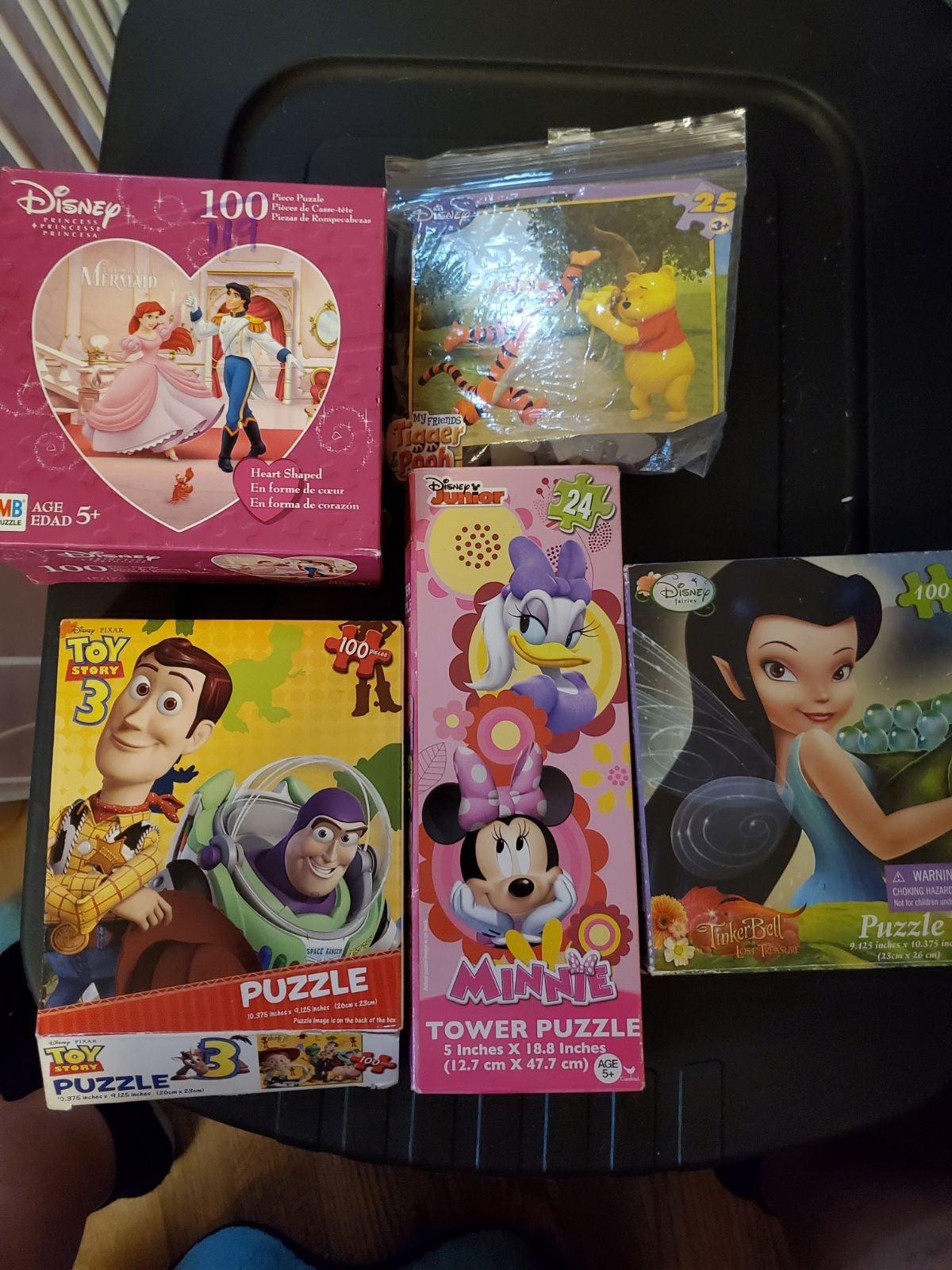 Disney Children's Puzzle lot