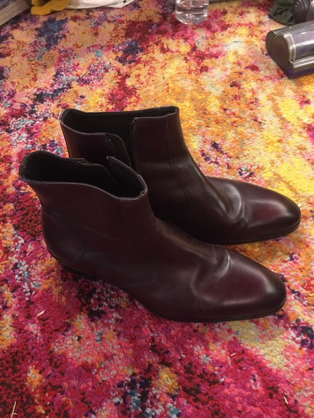 Mens Brunomagli italian leather boots si