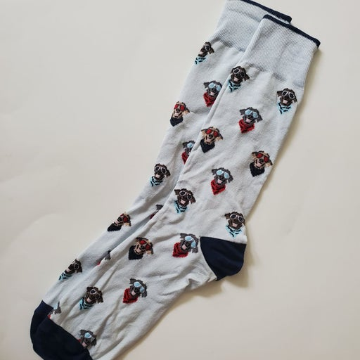 Mens Johnston & Murphy Dog socks