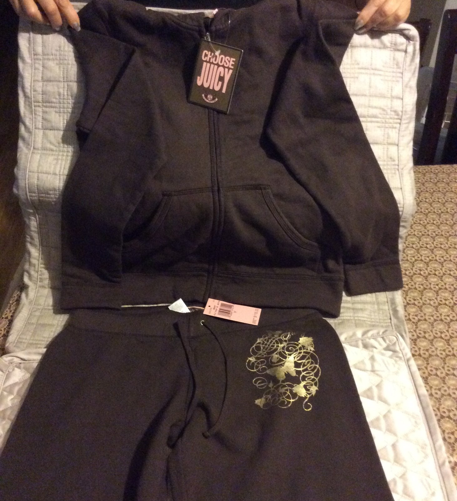 Juicy Couture tracksuit size M