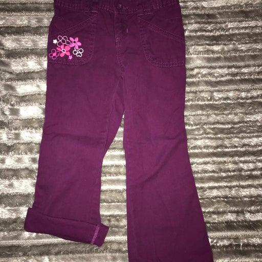 Old Navy 5T Purple Convertible Pants Euc