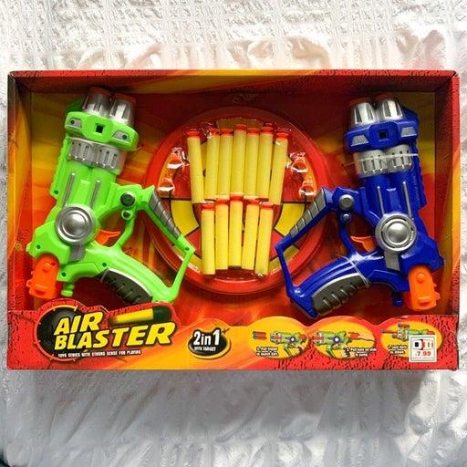 Airblaster/nerf duo set