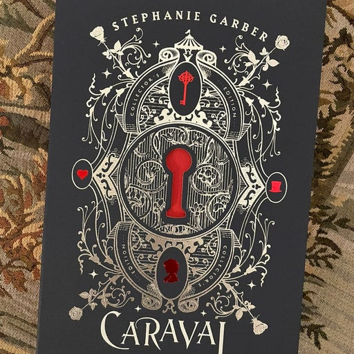 Caraval Collector's Book Signed