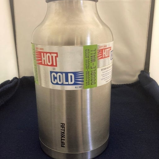 Fifty/Fifty 7500 Stainless Steel Growler