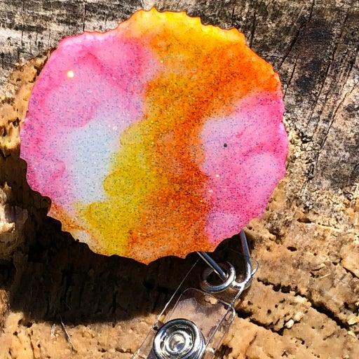Geode badge reel
