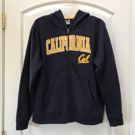 Cal Boys XL Full Zip Hoodie