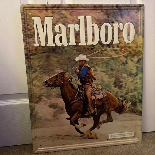 Vintage Marlboro Sign