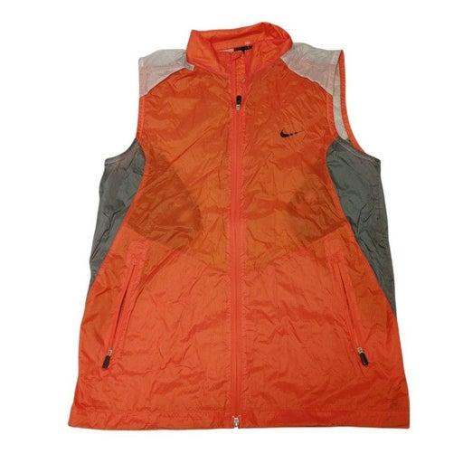 NWOT Nike Golf Vest Orange Medium