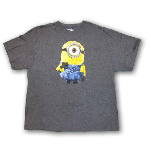 Minions Mens Gray Tshirt 2X