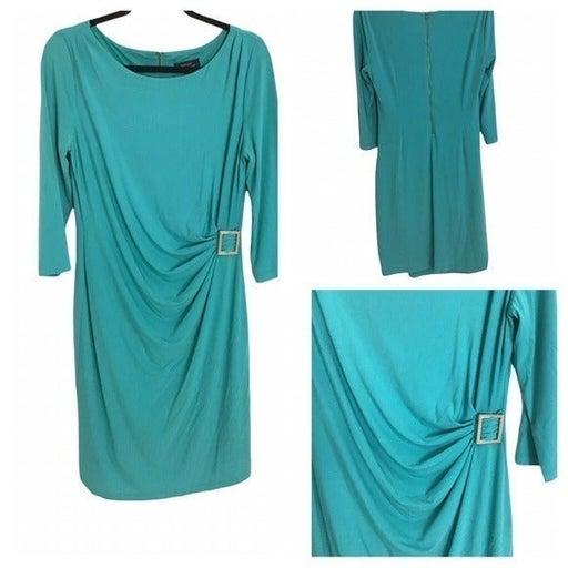 """""""Tahari""""  Jade Green Dress"""