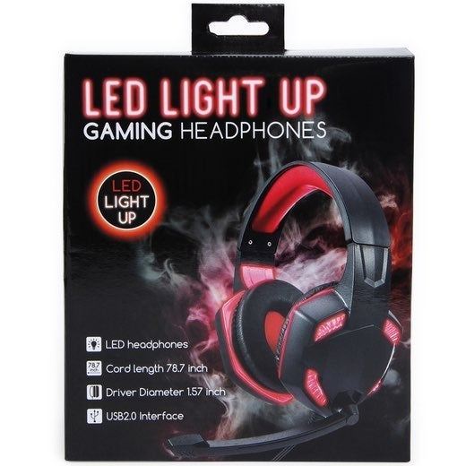 Led Gaming Headset Ps4 Xbox One