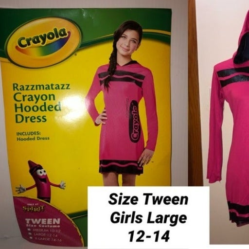 NEW Girls Razzmataz (PINK) Crayola DRESS