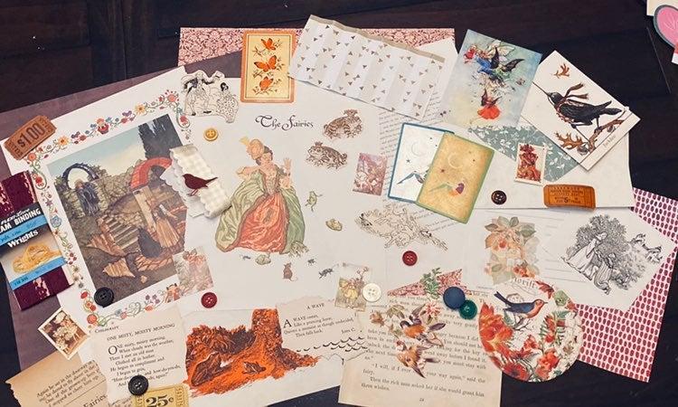 Autumn Fairy Ephemera Kit