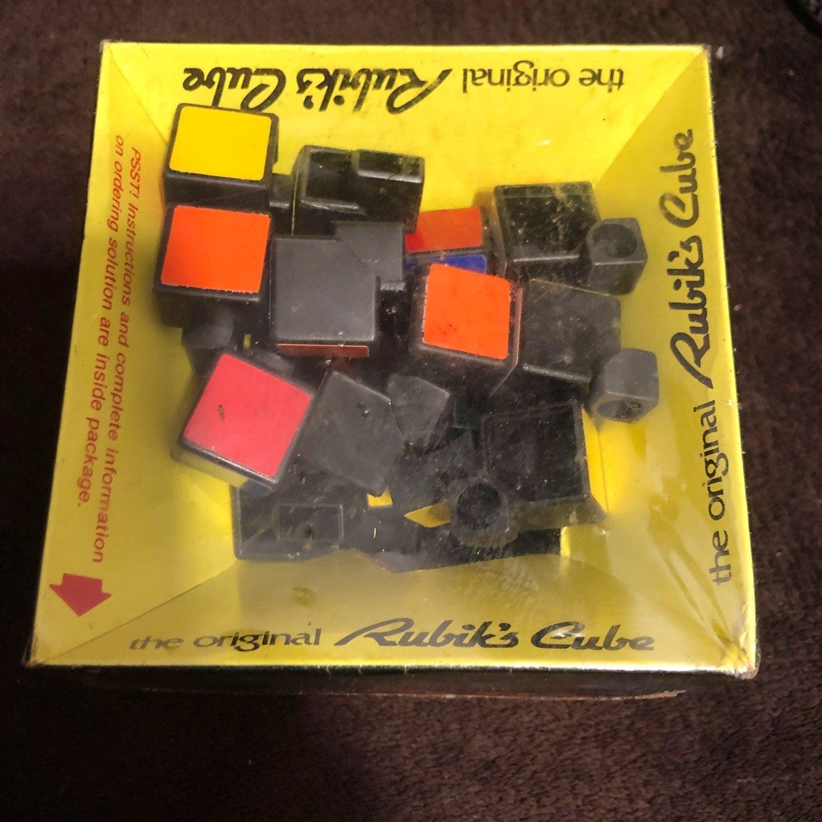 Vintage 1980s The Original Rubiks cube N