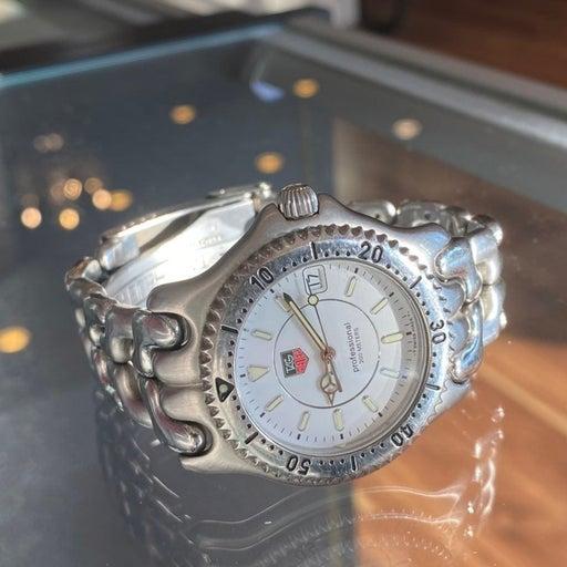 Tag Heuer Watch WG1112 Stainless Steel