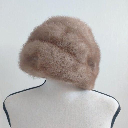 Deborah Vintage Mink Skin Fur Hat