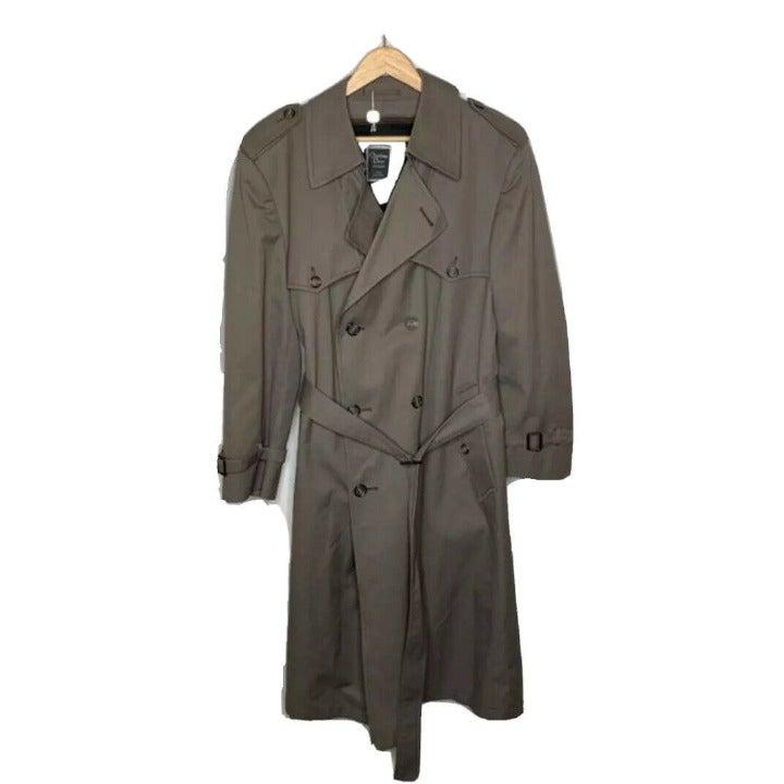 VTG Men's Christian Dior trench coat 44R