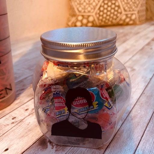 Custom candy jar