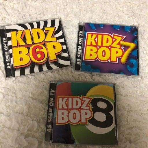 SET of 3 KIDZ BOP CDs