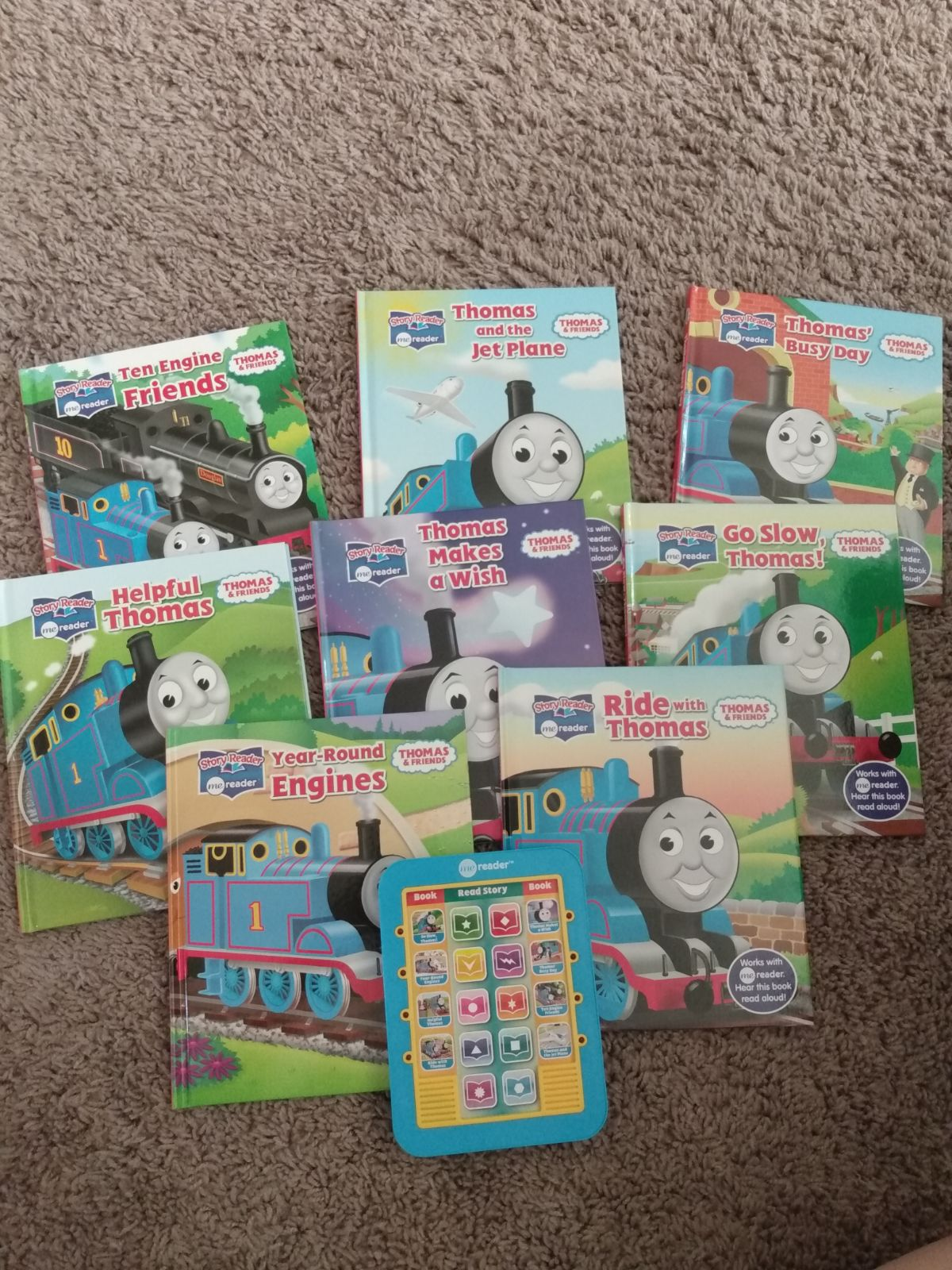 THOMAS THE TRAIN AND FRIENDS/ Me Reader