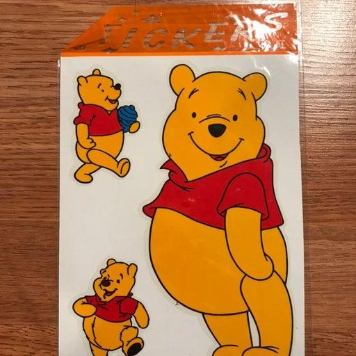 winnie the pooh car sticker