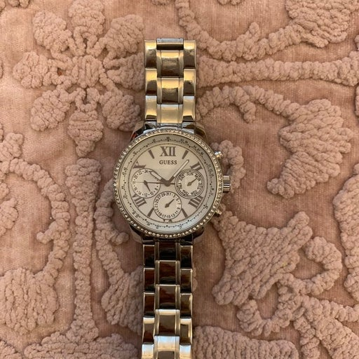 GUESS Silver watches for women