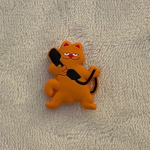 Garfield Croc Charm