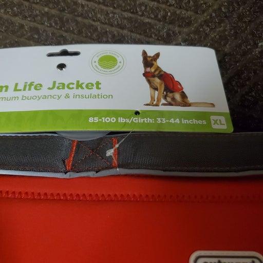 XLARGE DOG SWIN LIFE JACKET FLOAT