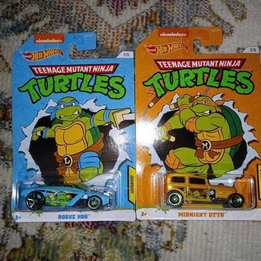 Ninja turtles hot wheels