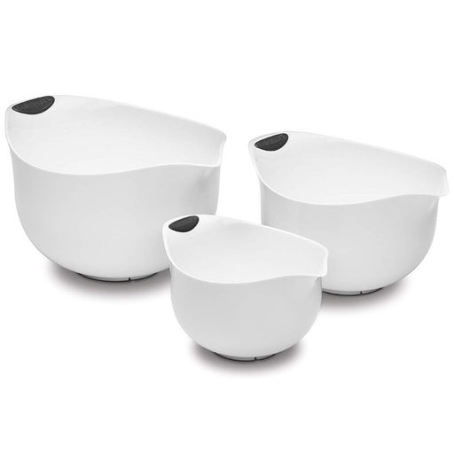 NEW Cuisinart Set of 3 Mixing Bowls, whi