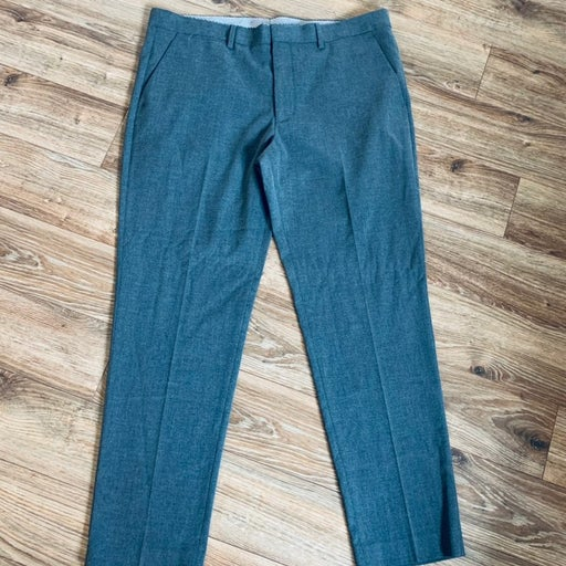 Mens Express gray dress pants 34x30