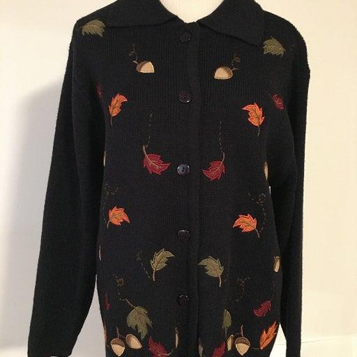 Crystal Kobe black sweater