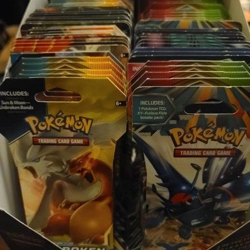 Pokemon Booster Pack Bundle Lot