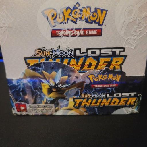 Pokemon Lost Thunder Booster Box